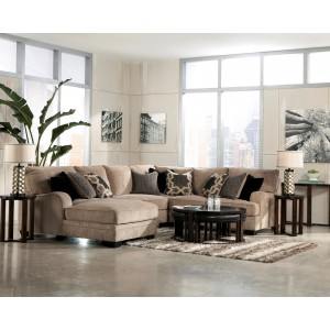Katisha Platinum LAF Loveseat Sectional