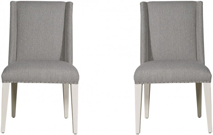Modern Tyndall Gray Dining Chair Set Of 2