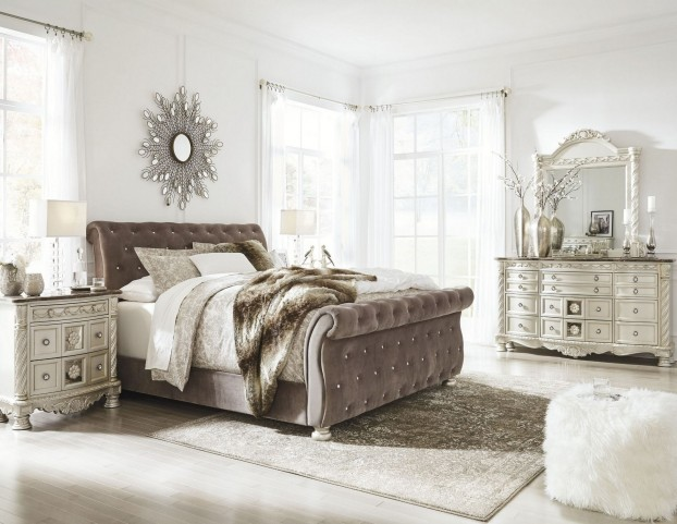 FurnitureETC Furniture More Cassimore North Shore Pearl Silver - Ashley furniture northshore bedroom set