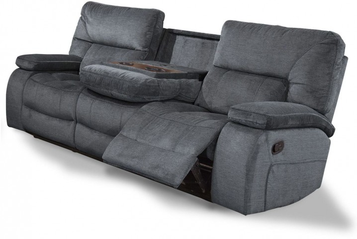 Chapman Polo Dual Reclining Sofa With Drop Down Console
