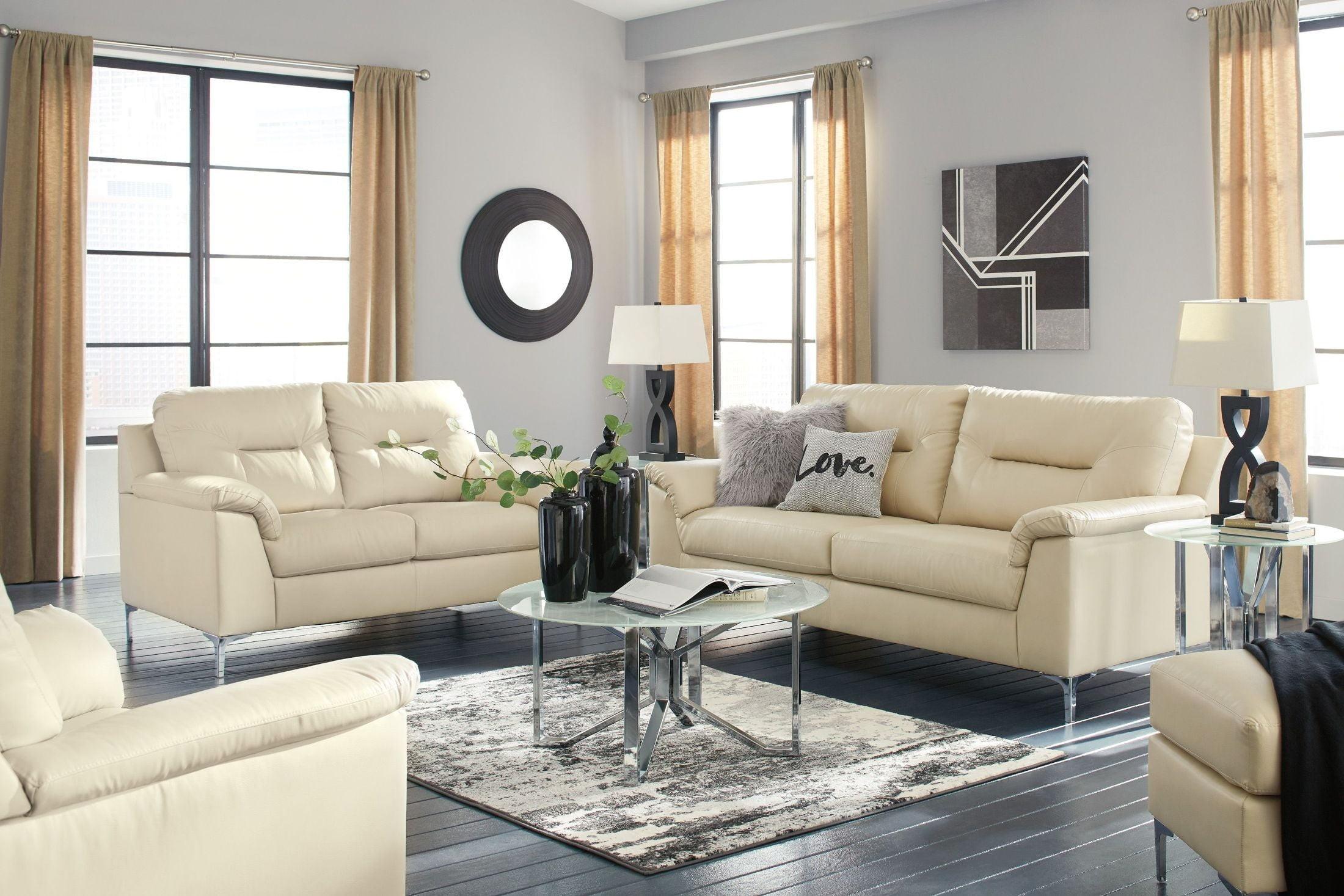 FurnitureETC | Furniture & More Tensas Cream Living Room Set from ...