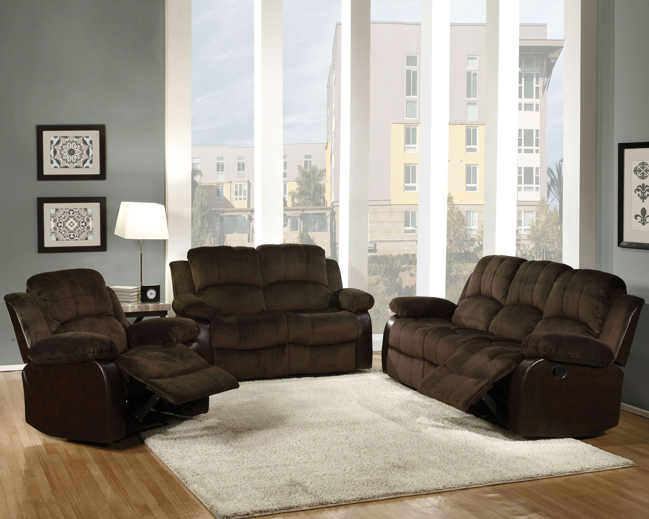 FurnitureETC | Furniture & More Masaccio Brown Champion Reclining ...