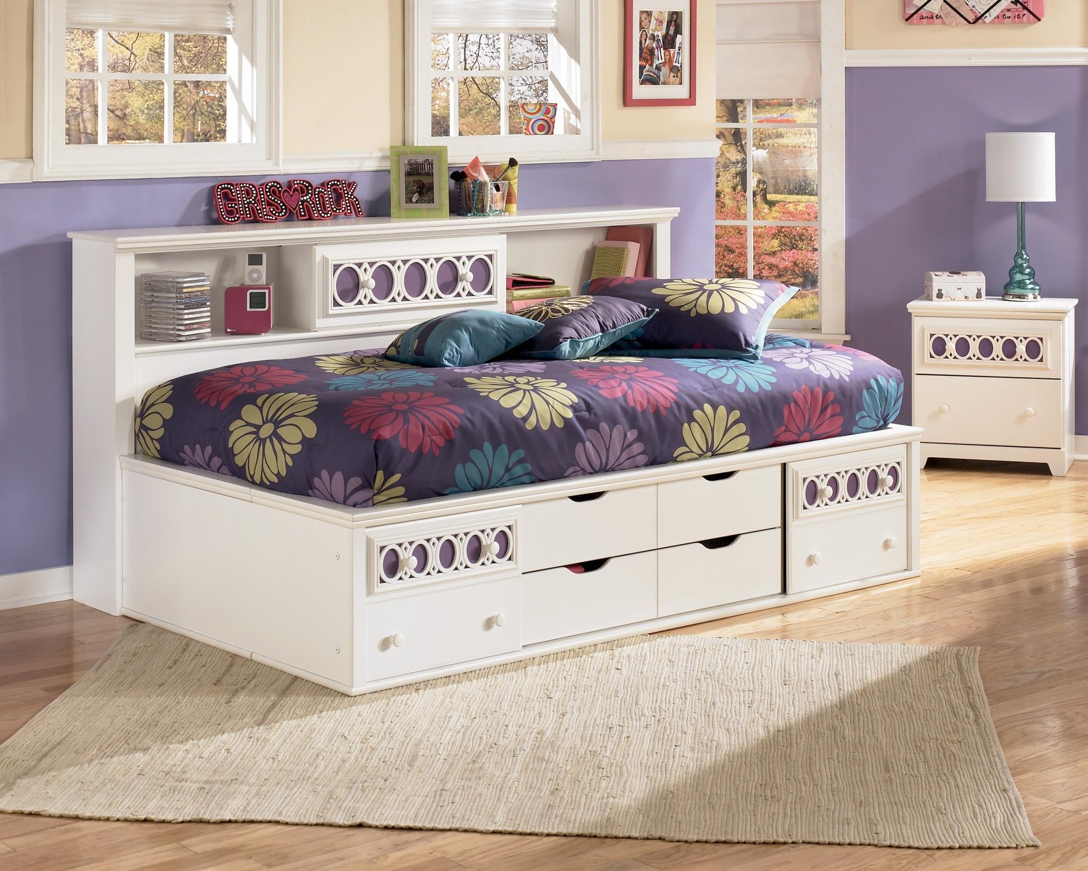Furnitureetc Furniture More Zayley Full Bookcase Storage