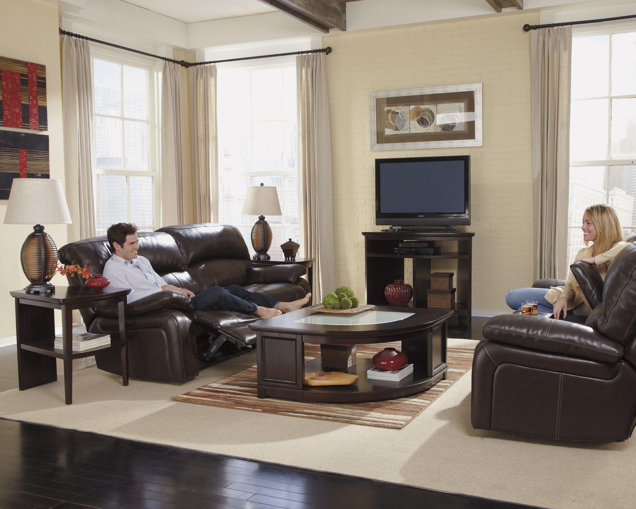 Furnitureetc Furniture Amp More Damacio Dark Brown Glider