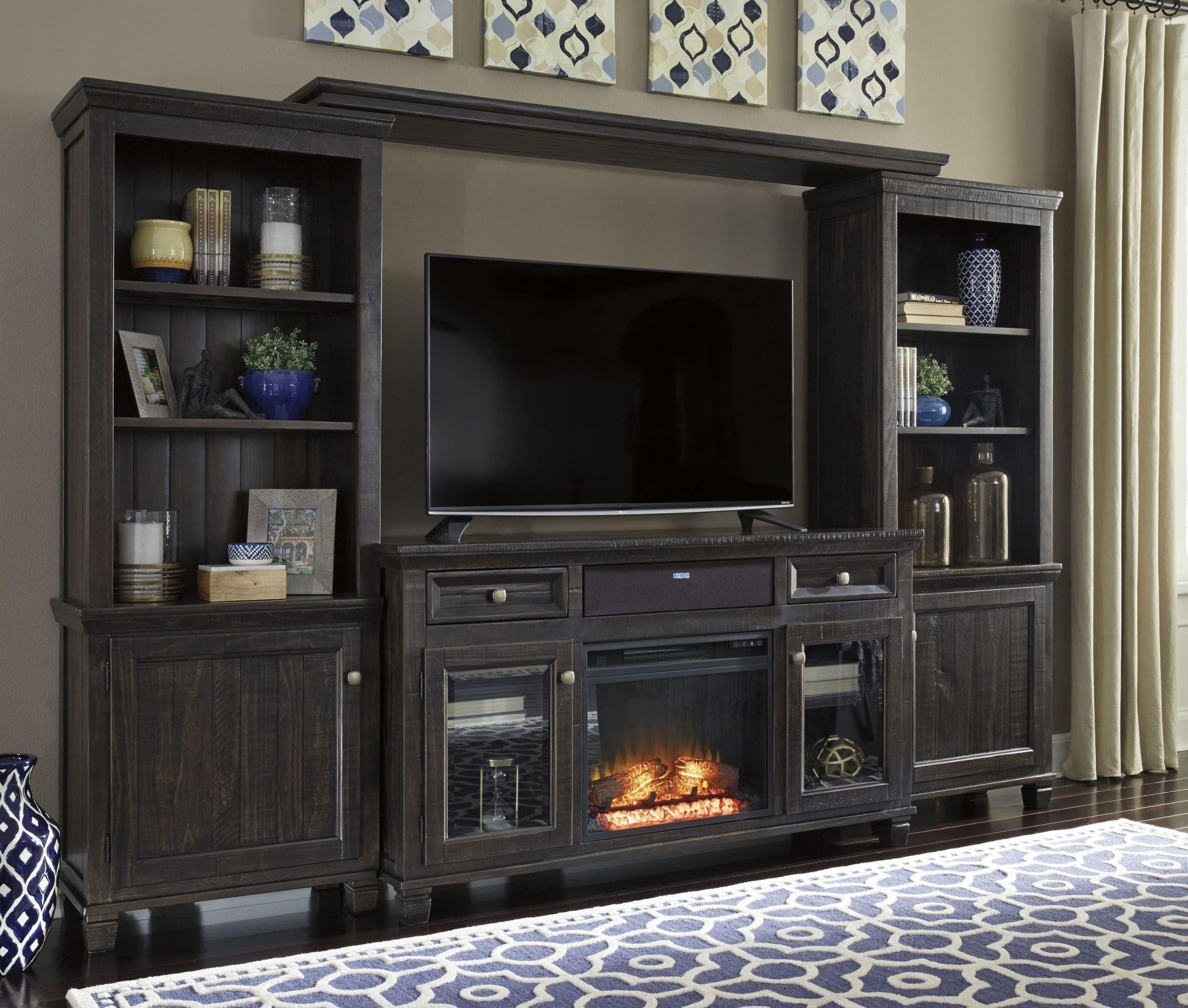 FurnitureETC | Furniture & More Townser Waxy Grayish Brown Large ...