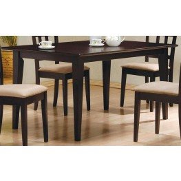 Mix & Match Cappuccino Dining Table