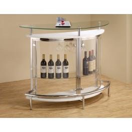 White Bar Table 101066