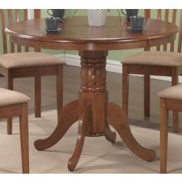 Brannan Oak Round Dining Table
