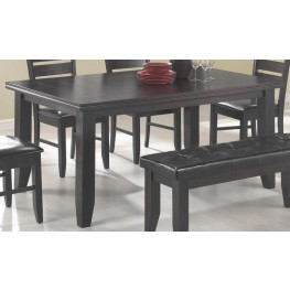 Page Cappuccino Rectangular Dining Table