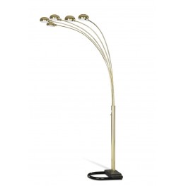 Brass Overhead Floor Lamp