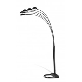 Black Overhead Floor Lamp 1297A