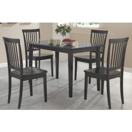 Oakdale Cappuccino 5 Piece Dining Room Set