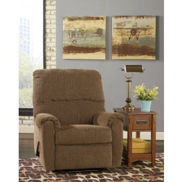 Pranit Walnut Zero Wall Recliner