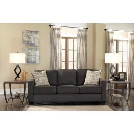 Alenya Charcoal Fabric Sofa
