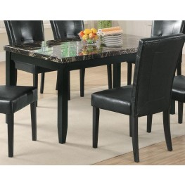 Anisa Dining Table w and Dark Top - 102791
