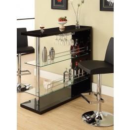 Black Bar Table 100165