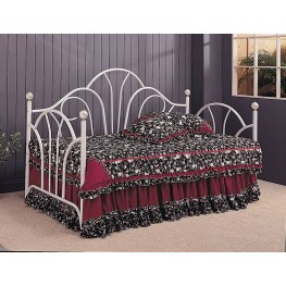 Twin Day Bed With Metal Fan Back - 2632