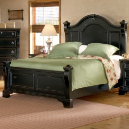 Heirloom Black King Poster Bed