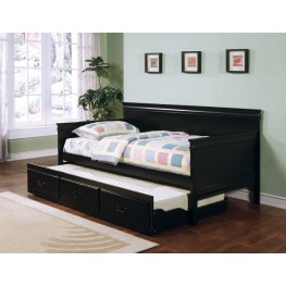 Black Fountain Day Bed