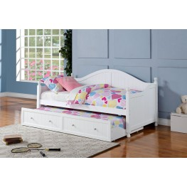 300053 White Curved Back Daybed