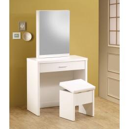 300290 White 2-Piece Vanity Set