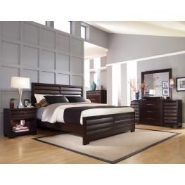 Sable Tangerine Bedroom Set