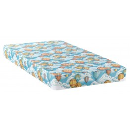 """Balloon 5"""" Full Size Mattress With Bunkie Board"""