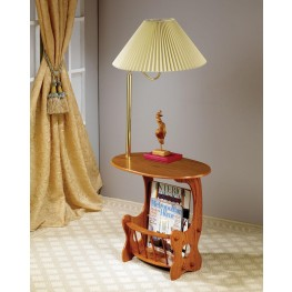 Oak Accent Table 4501
