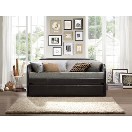 Roland Dark Brown Daybed With Trundle