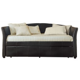 Meyer Dark Brown Daybed With Trundle