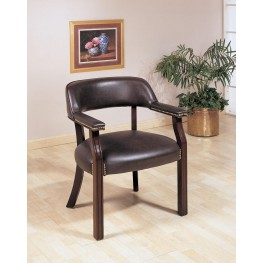 Burgundy Office Guest Chair 511B