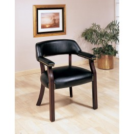 Black Office Guest Chair 511K