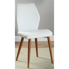 White Side Chair Set of 2