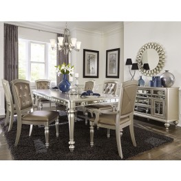 Orsina Silver Extendable Dining Table