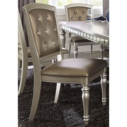 Orsina Silver Side Chair Set of 2