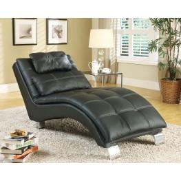 550075 Black Chaise