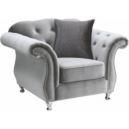 Frostine Silver Chair