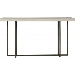 Modern Wilder Gray And Brown Console Table