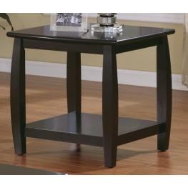 Marina End Table With Bottom Shelf