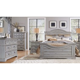 Stonebrook Antique Gray Panel Bedroom Set