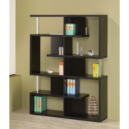 Black Bookcase 800309