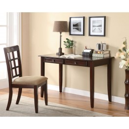 Brown Desk and Chair Set 800780