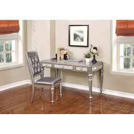 Bling Game Metallic Platinum Home Office Set