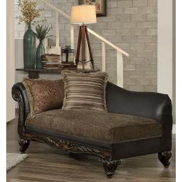 Thibodaux Brown Chaise