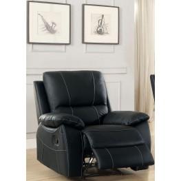 Greeley Black Reclining Chair