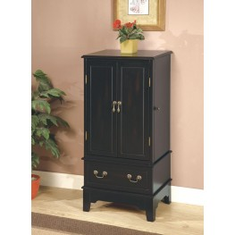 Black Jewelry Armoire 900095