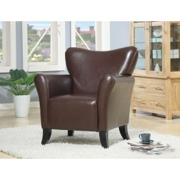 900254 Brown Accent Chair