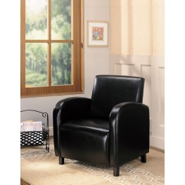 Dark Brown Vinyl Chair 900334
