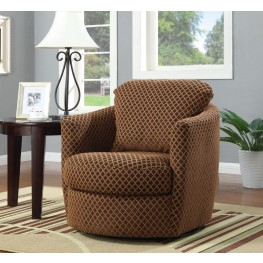 900405 Brown Accent Chair