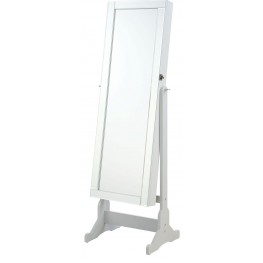 Grey Jewelry Cheval Floor Mirror